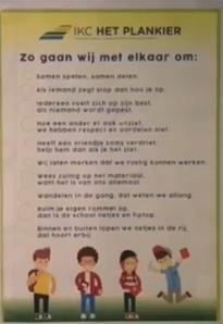 plaatje schoolregels